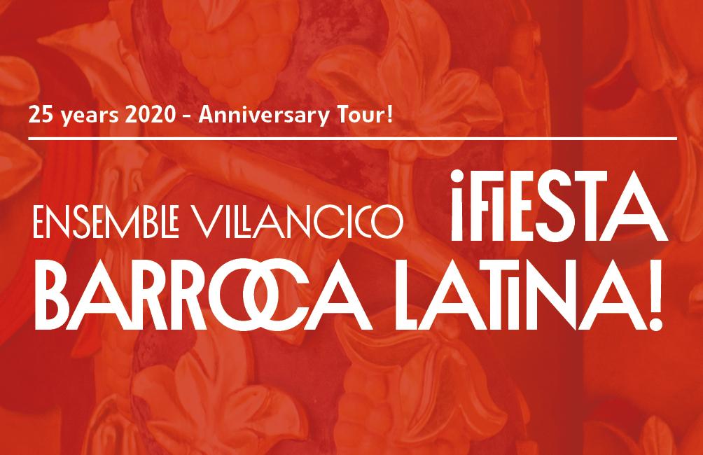 ¡Fiesta Barroca Latina!